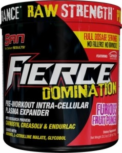 San Fierce Domination Nitric Oxide Boosters Pre Workout & Energy